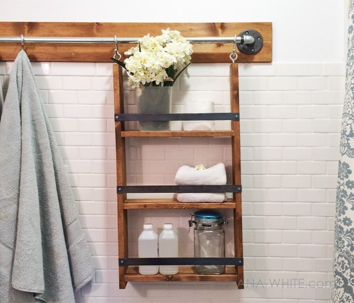 Wall system hanging organizer